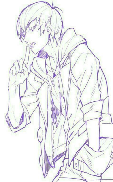 anime boy cool hoodie jacket anime guys anime guys