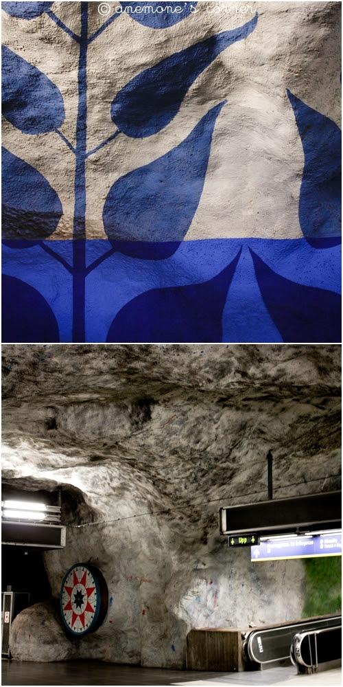 Stoccolma: metropolitana..