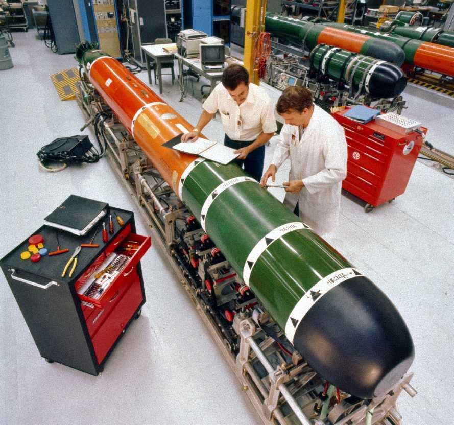 Resultado de imagen para torpedo MK 48