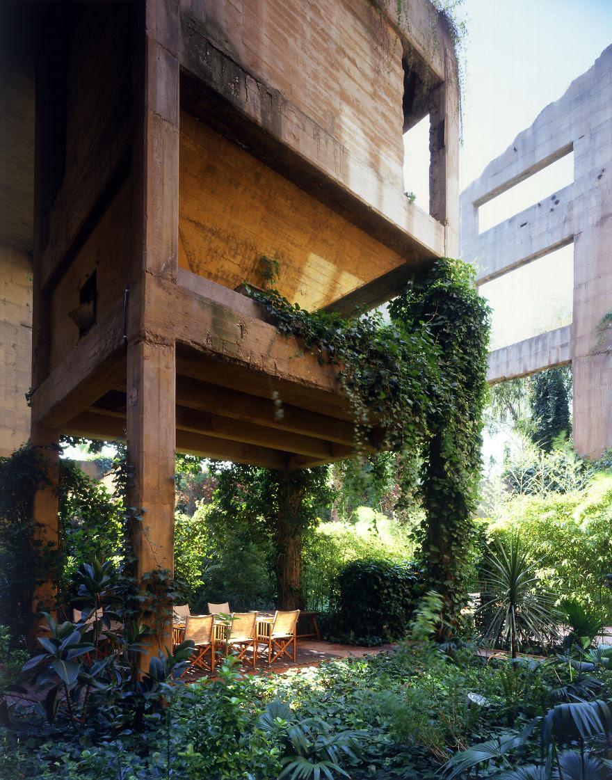 Ricardo Bofill casa personal cemento 4