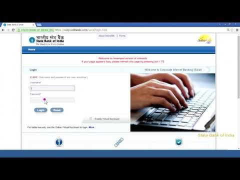 How To Login in into SBI Saral Account for the first time?