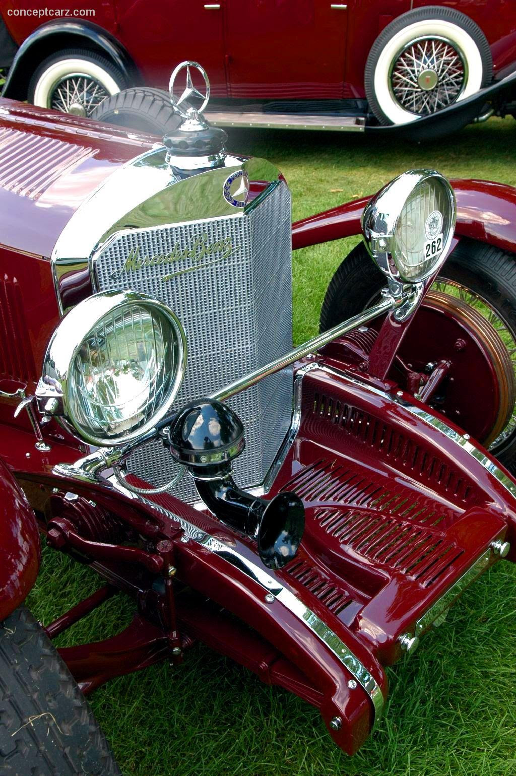 1929 Mercedes-Benz SSK at the Meadow Brook Concours d'Elegance