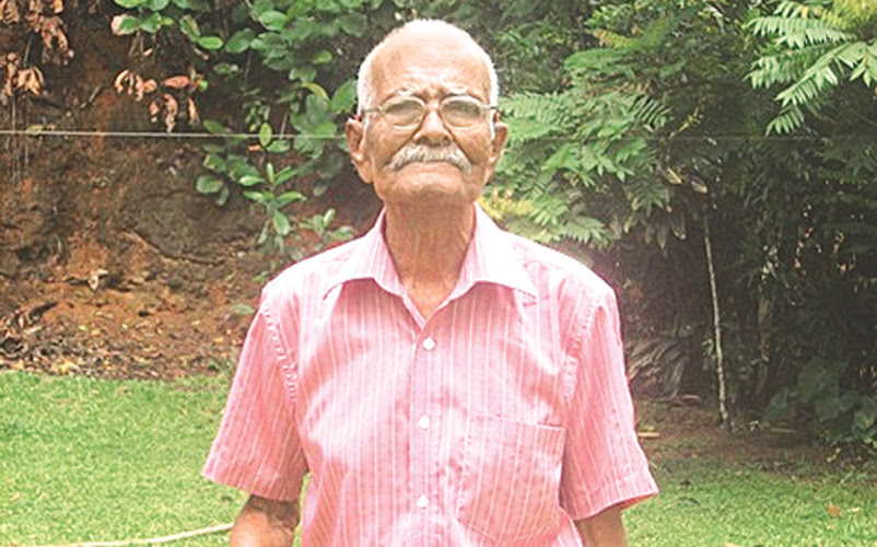 SL's oldest man to be felicitated