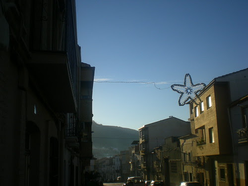 Streets of Villanueva del Arzobispo, Spain