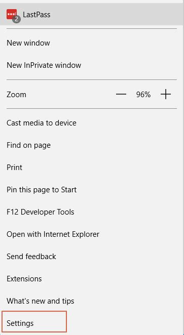 Change the default Search Engine for Microsoft Edge
