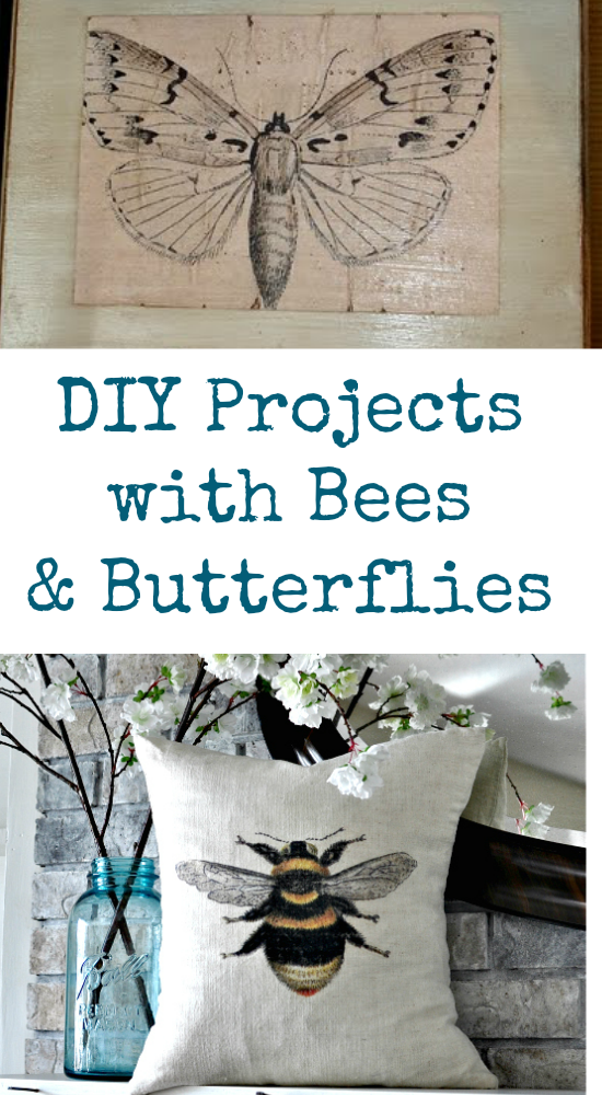 DIY Projects with Bees and Butterflies