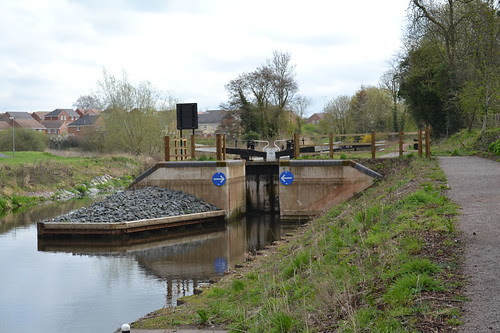 Lock 7, Droitwich Junction Canal, Droitwich Spa