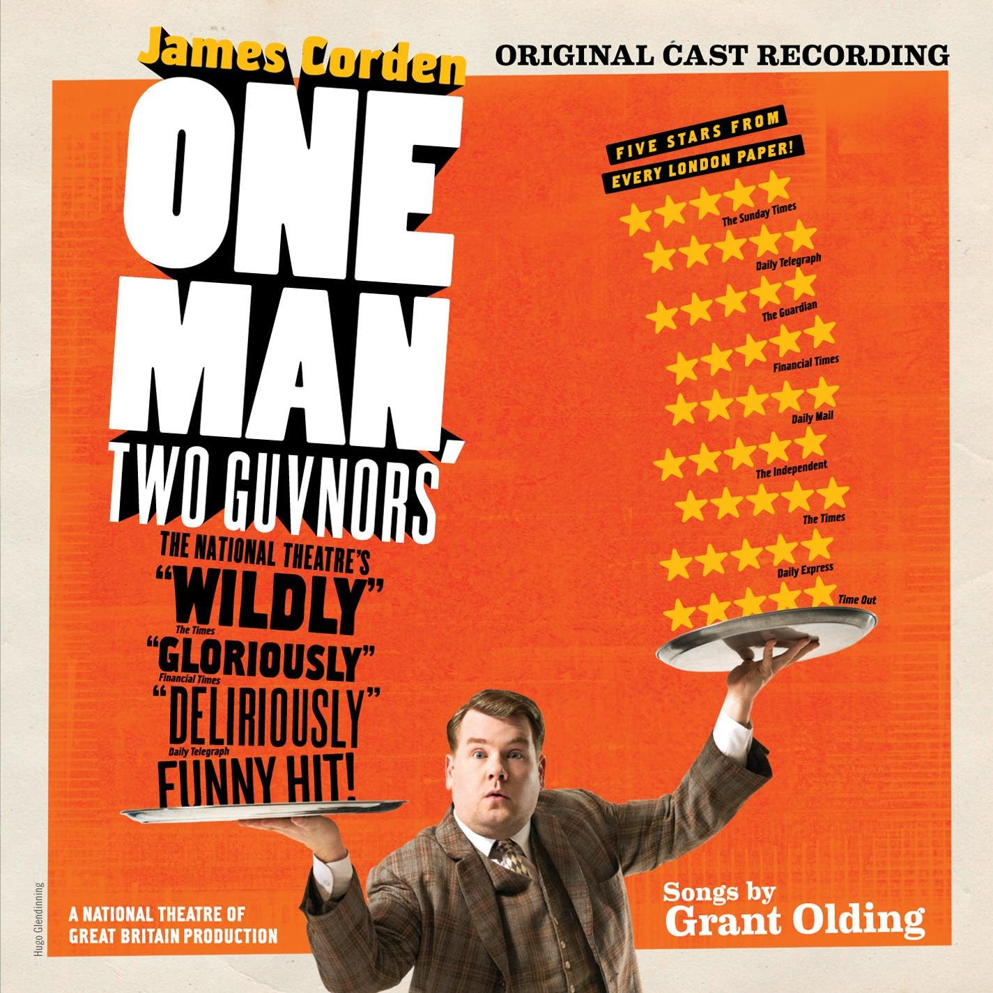 One Man, Two Guvnors album art