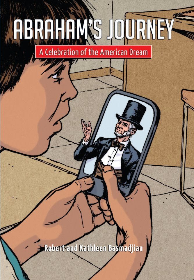 Cover Art for Abraham's Journey: Inspiring the American Dream