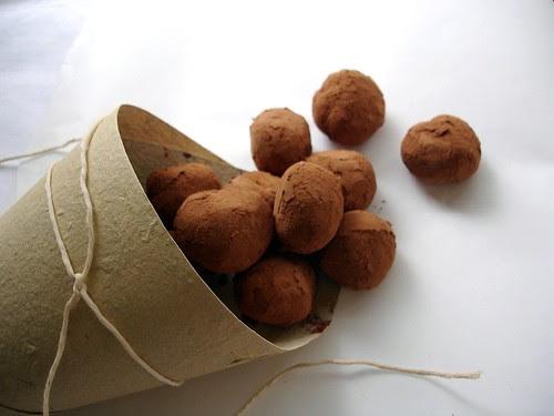 Caipirinha truffles