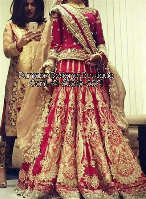 Bridal Lehenga Boutique Online   Punjaban Designer Boutique