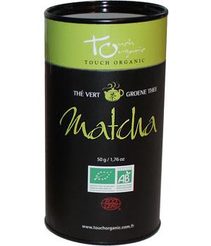 Touch Organic Thé vert BIO Matcha vrac 50g