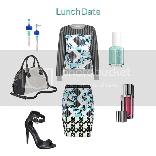 Peter Pilotto for Target lookbook - lunch date