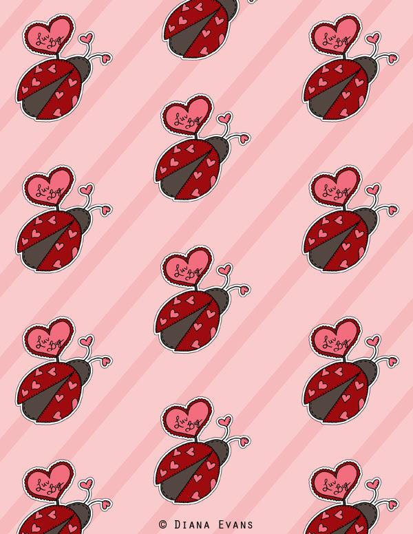 love bug gift wrap 4 - blog