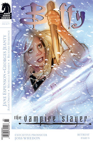 Buffy the Vampire Slayer Season 8 #30: Retreat part 5 (Adam Hughes cover) [click to enlarge]