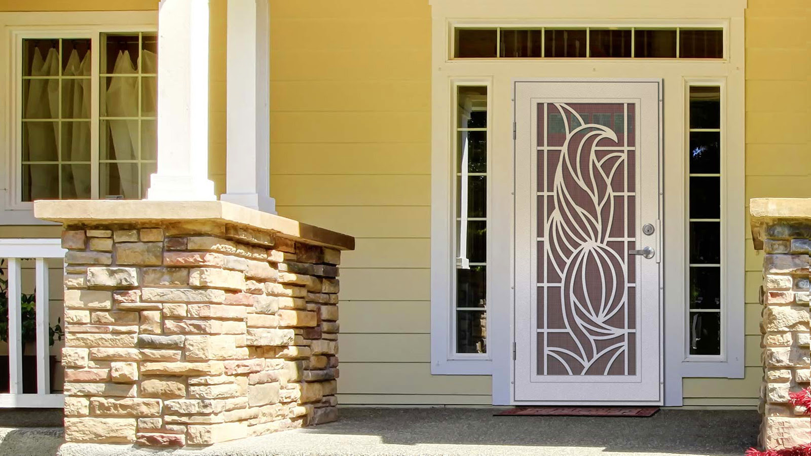 Unique Home Designs Security Doors Screen Doors And Window Guards