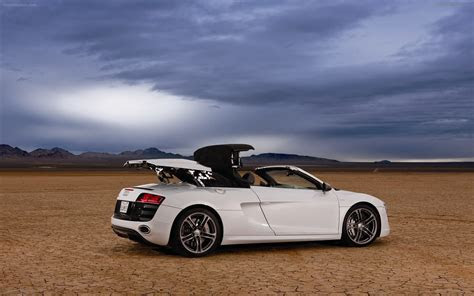 Audi R8 GT Spyder 2012 Widescreen Exotic Car Wallpapers #38 of 88 : Diesel Station