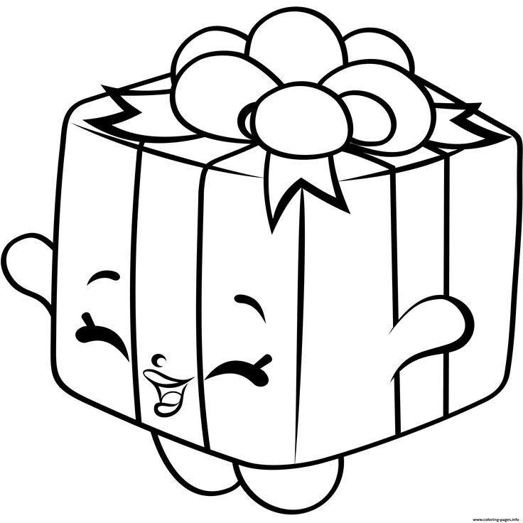 8600 Shopkins Cartoon Coloring Pages  Images