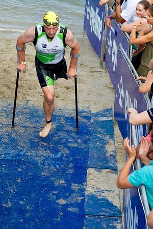 Courage, Guts, Determination - 2011 Noosa Triathlon, Noosa Heads, Sunshine Coast, Queensland, Australia; 30 October 2011.