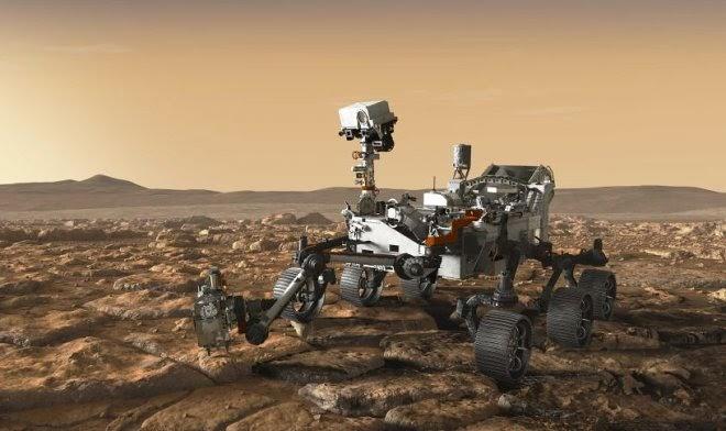 NASA впервые опубликовало запись звуков Марса