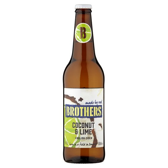 Brothers Coconut And Lime Cider 500Ml