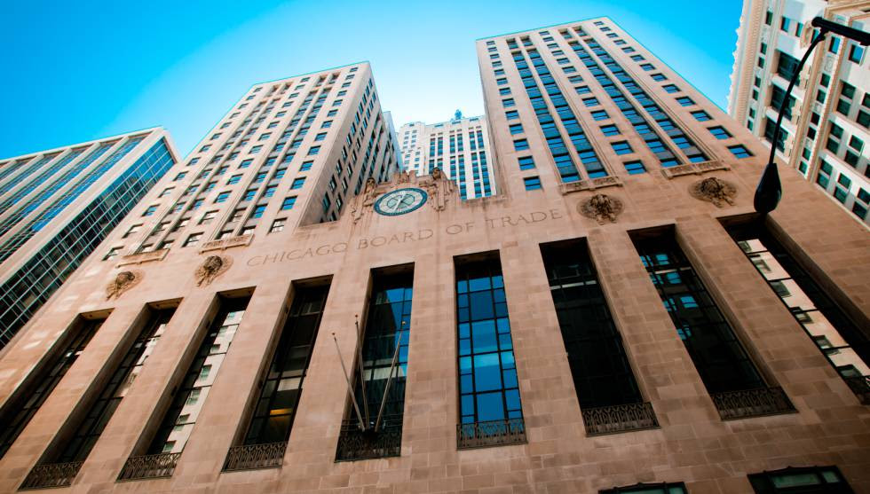 La Chicago Board of Trade.