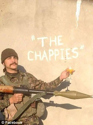 The Chappies are a unit of fighters who come almost exclusively from Western countries