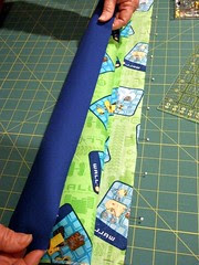 8-Bring cuff up to pinned edge