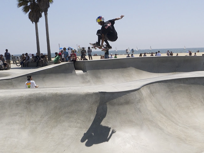 Skate park, Venice Beach