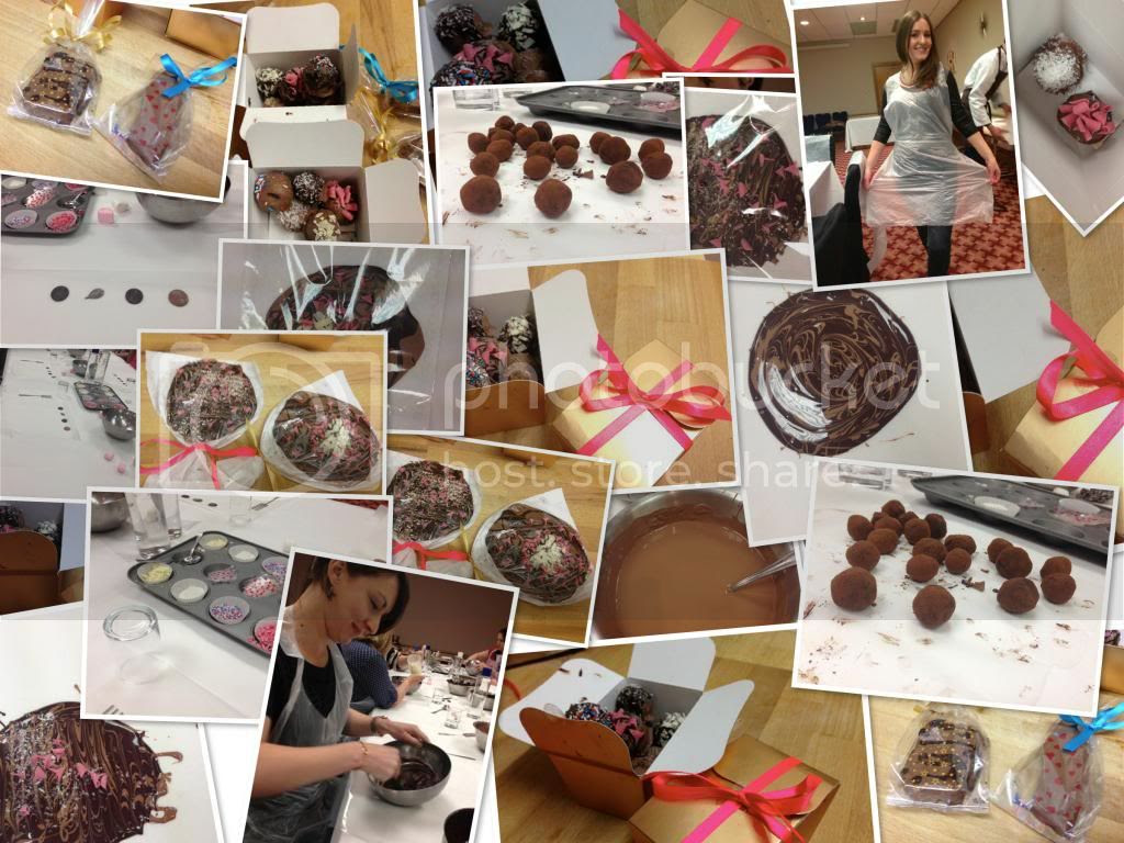 British Gas Remote Heating Control Chocolate Making Event