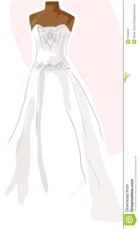 Wedding Dress On Mannequin   Pink Royalty Free Stock Image