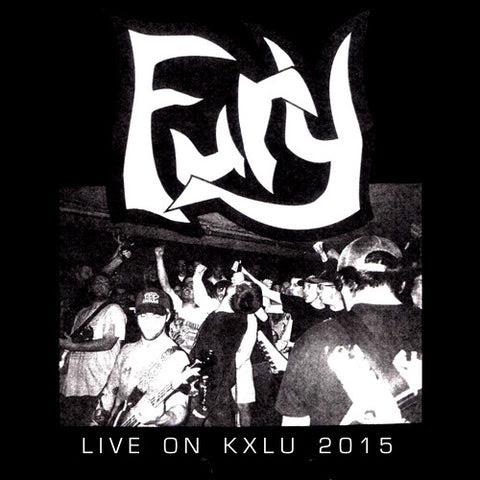 """FURY """"Live on KXLU 2015"""" 7"""""""