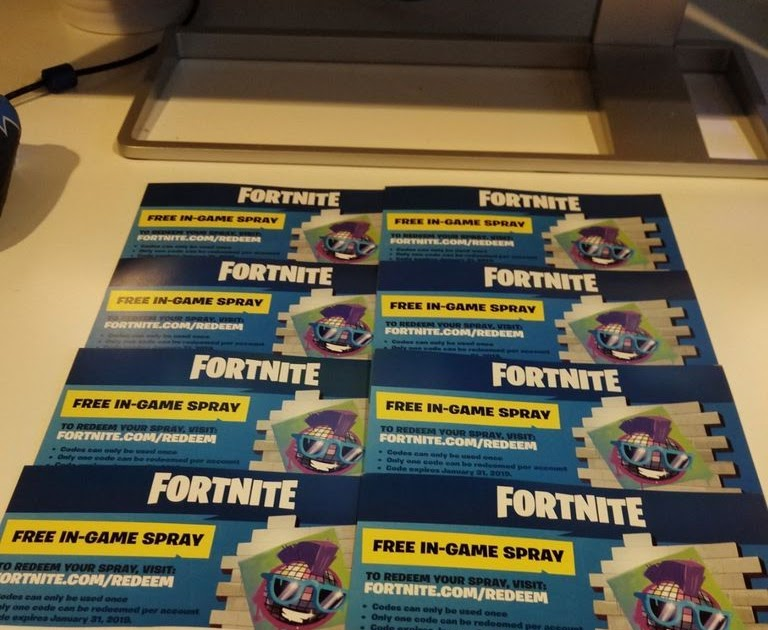 Fortnite Free In Game Spray Code | Fortnite Free On Ps4