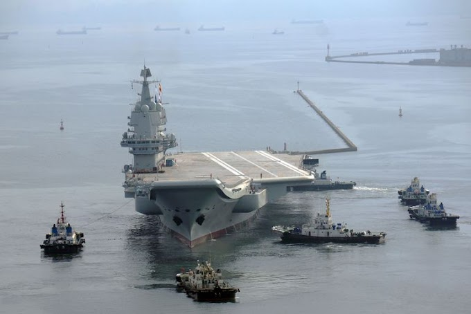 Imprensa estadunidense especula problemas com o primeiro porta-aviões chinês