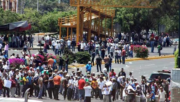 Crimen organizado propició manifestaciones en Michoacán: Gobierno