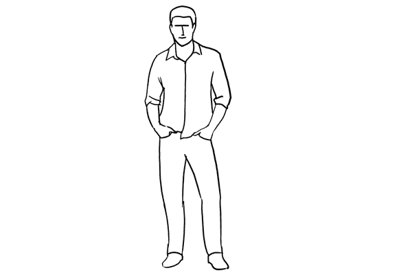 Позирование: позы для мужского портрета 4