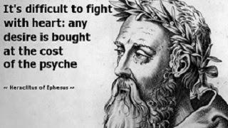 Famous Quotes By Heraclitus Heraclitus Quotes Warrior