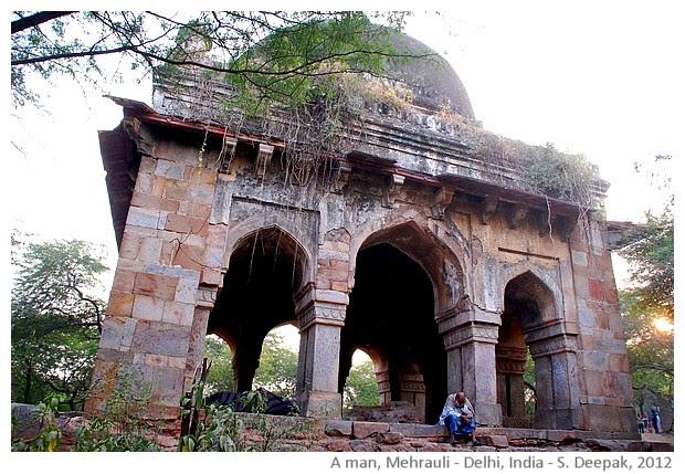 sad man, Mehrauli, Delhi, India - S. Deepak, 2012
