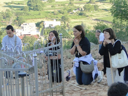 Prayer on Apparition Hill