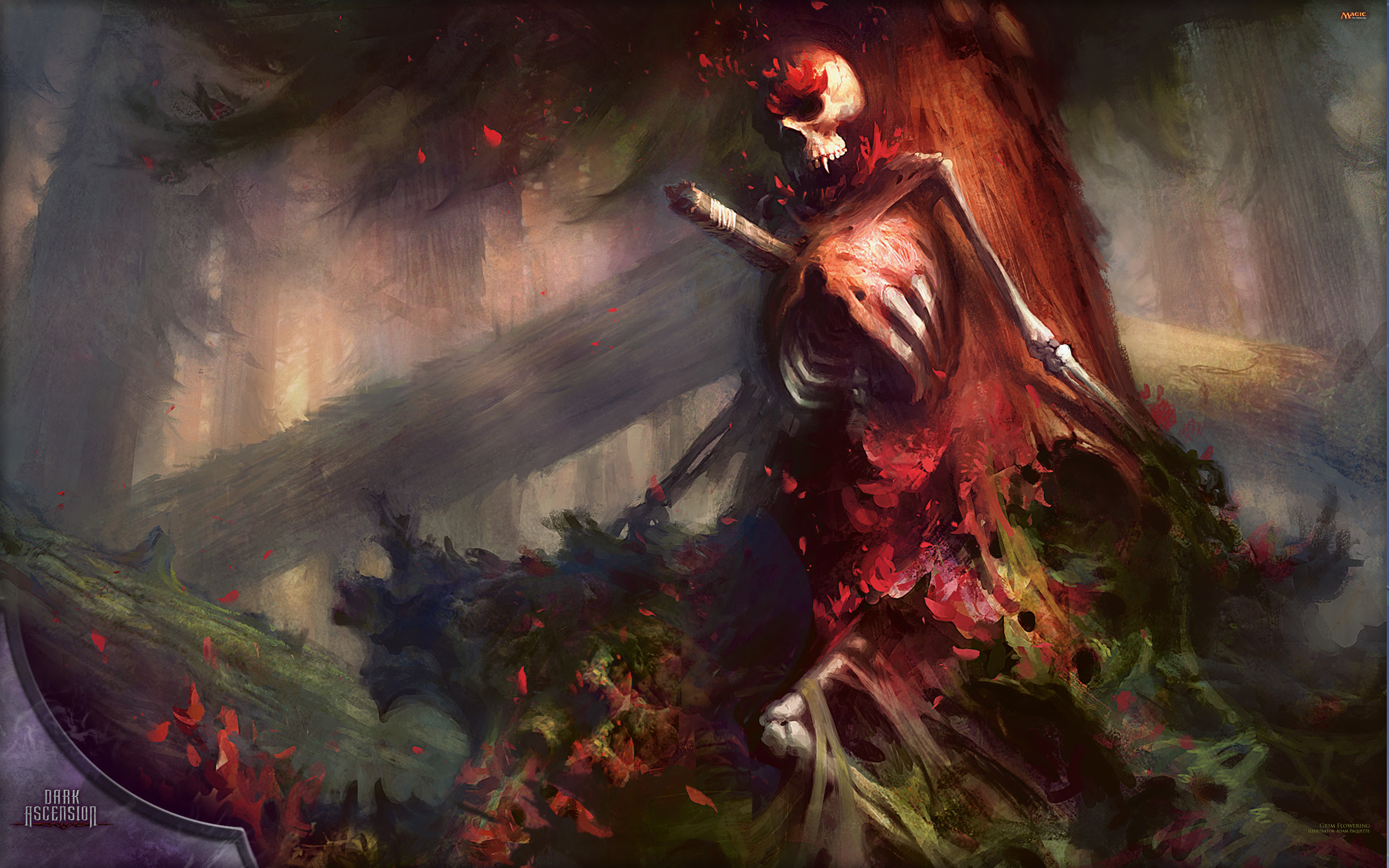 Wallpaper Of The Week Grim Flowering Magic The Gathering