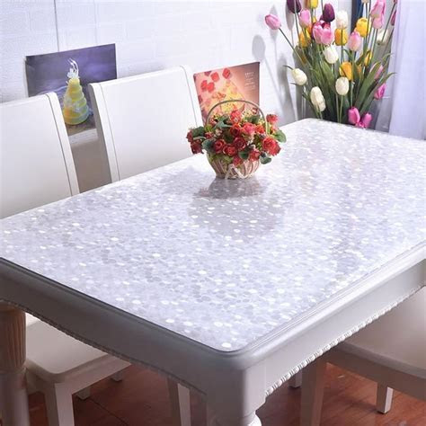 Modern Design Pvc Tablecloth Luxury Home Party Flower
