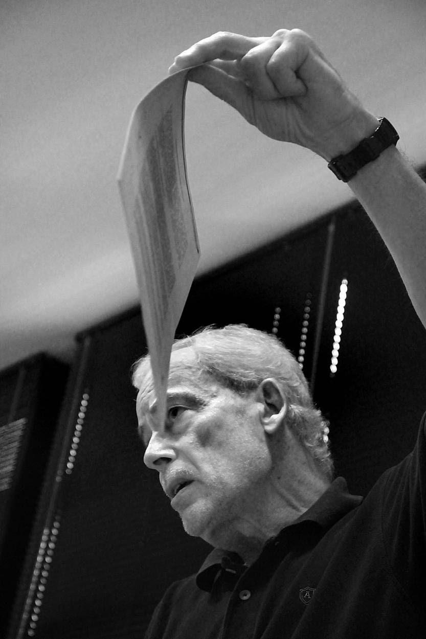 Víctor Bacchetta, ayer, en la sala de conferencias de APU. Foto: Mauricio Kühne