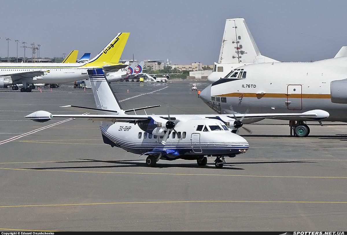 Eagle Air Guinea Let 410 (MSN  871816   3X-GHP)