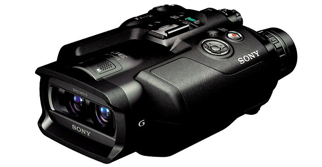 3D Binoculars Video Recorder Sony DEV-5s