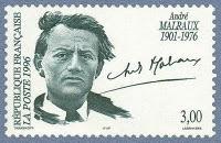 Malraux francobollo