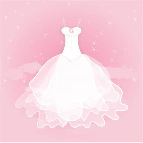 Pretty Bride Wedding Gown Vector   Free Vector Download In