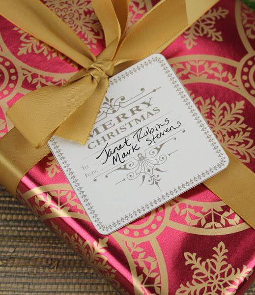 Christmas Gift Tag Template – Download & Print