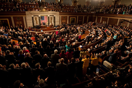 Barack Obama addresses joint session of Congress 2-24-09.jpg
