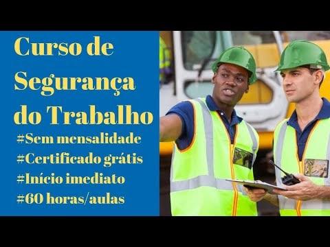 Curso de Segurança do Trabalho - Curso de Segurança do Trabalho online