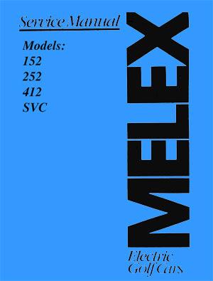 PU66-040 - Service Manual, 152 / 252 & 412 / SVC - Vintage ...